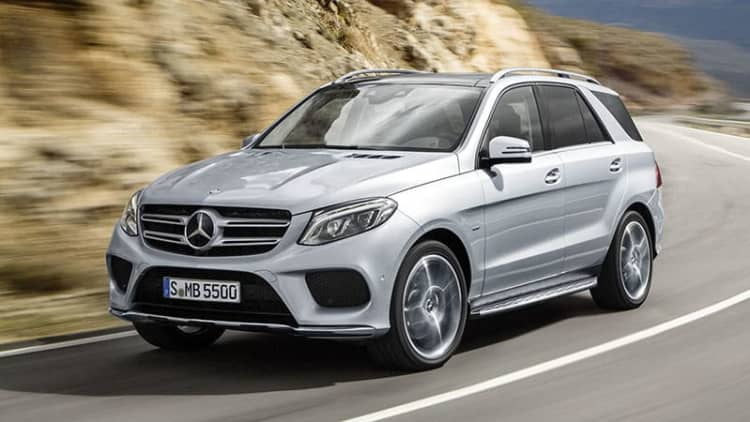 2016 Mercedes-Benz GLE priced from $52,025
