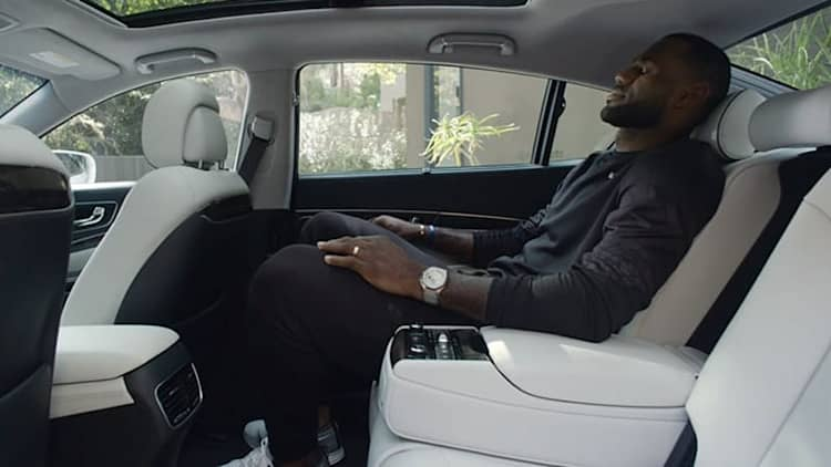NBA players make some weird car commercials