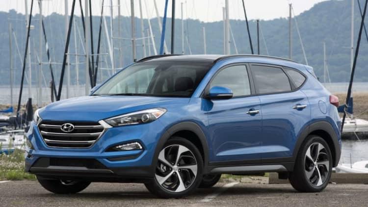 2016 Hyundai Tucson and Sonata each get TSP+ rating by IIHS