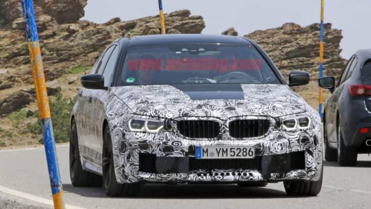 BMW M5 gets a facial for next generation