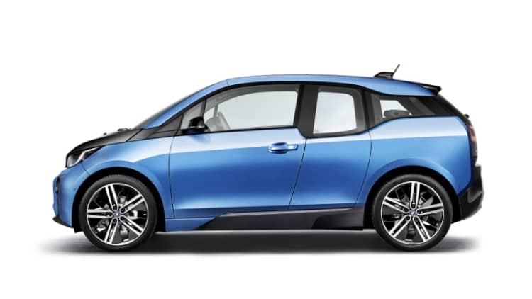 BMW i3 sales rise after Germany adds plug-in vehicle subsidies