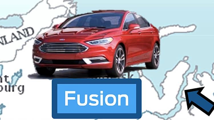 Is this the 2017 Ford Fusion?