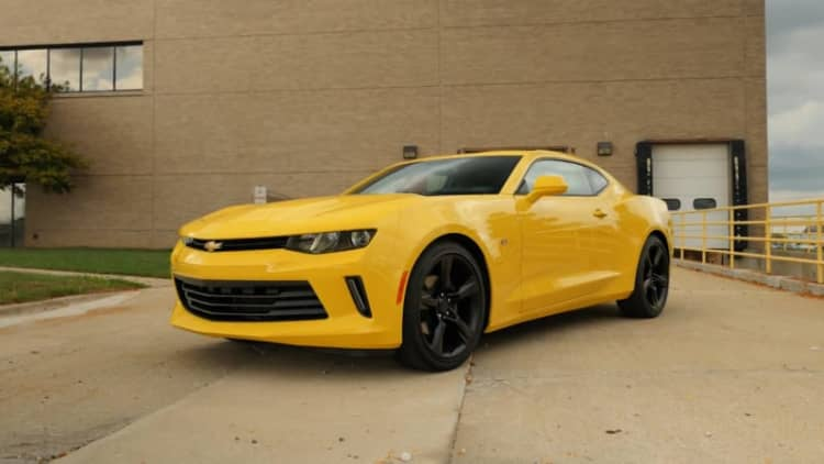 2016 Chevrolet Camaro Beauty-Roll