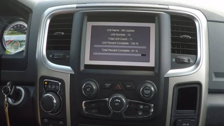 FCA issuing software update for 1.4M vehicles to prevent hacking