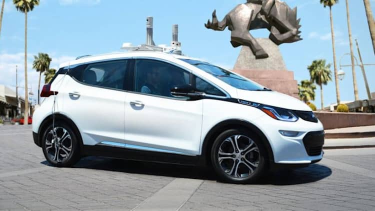 Watch an autonomous Chevy Bolt EV drive around San Francisco