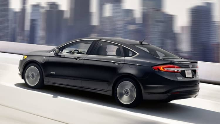 Ford Fusion Hybrid sales jump by a third in LA in June