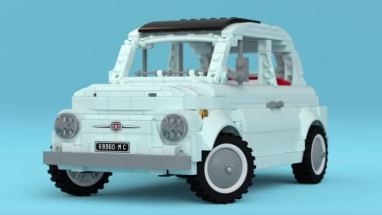 This sweet Fiat 500 Lego kit could be a reality if it gets enough support