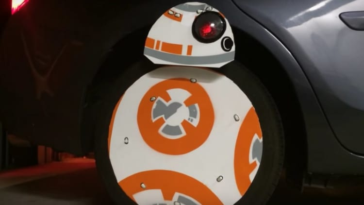 DIY Star Wars BB-8 droid hits the road in the Bay Area