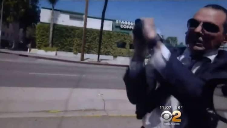 Chauffeur attacks motorist in road rage incident