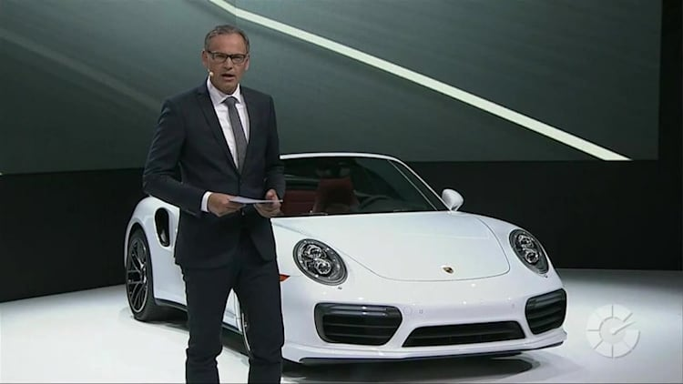 Porsche Press Conference | 2016 NAIAS Live