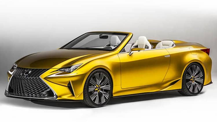 Lexus still weighing convertible prospects [w/poll]