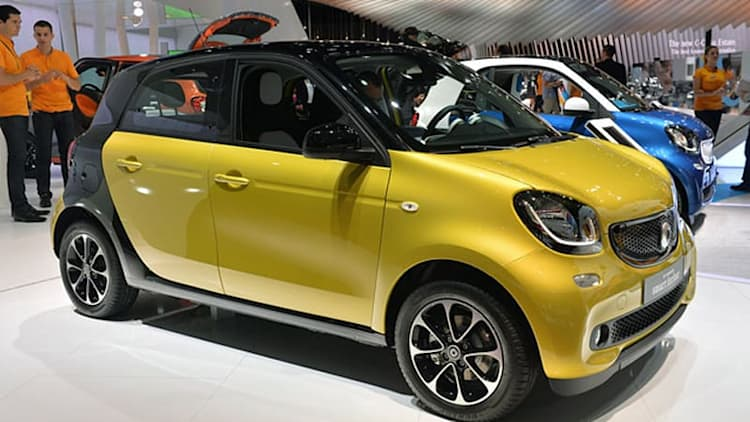 2016 Smart Fortwo and Forfour show their smiling new faces [w/videos]