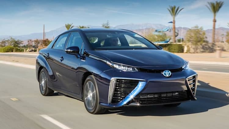 Toyota Mirai hydrogen car on sale in Europe by end of summer
