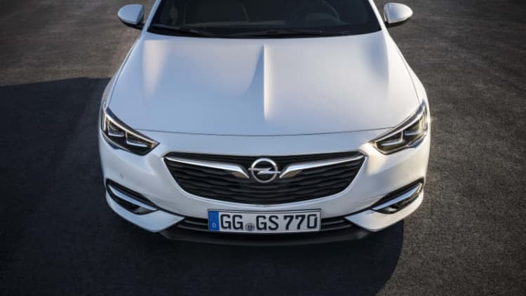 Opel did a great job on the 2018 Buick Regal