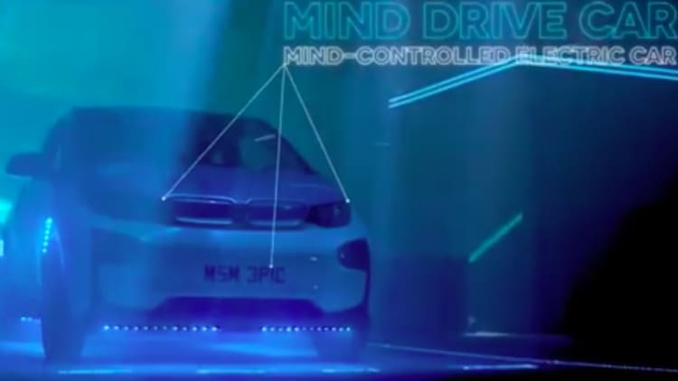 What's up with this thought-controlled BMW i3?