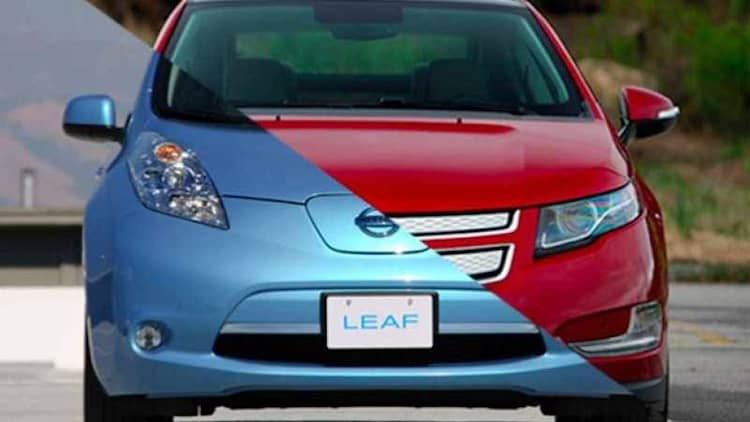 Chevy Volt outsells Nissan Leaf for first time since October 2013