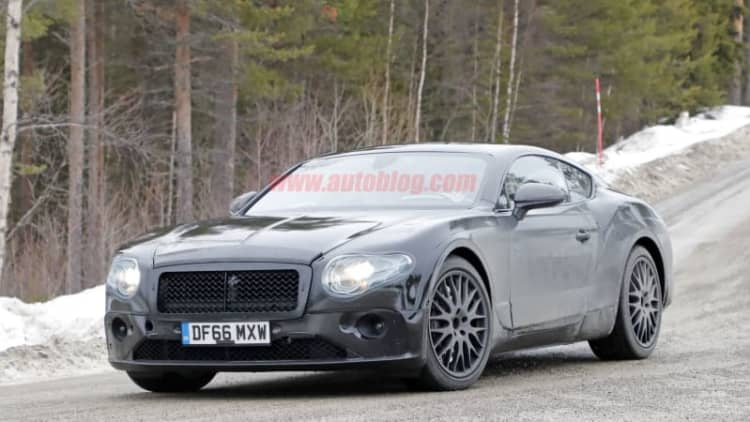 The next-gen Bentley Continental GT takes a page from Porsche