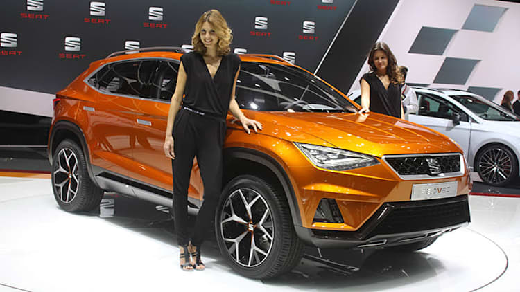 Seat crosses over with 20V20 concept