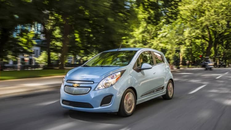 Chevy Spark EV will go on sale in Maryland