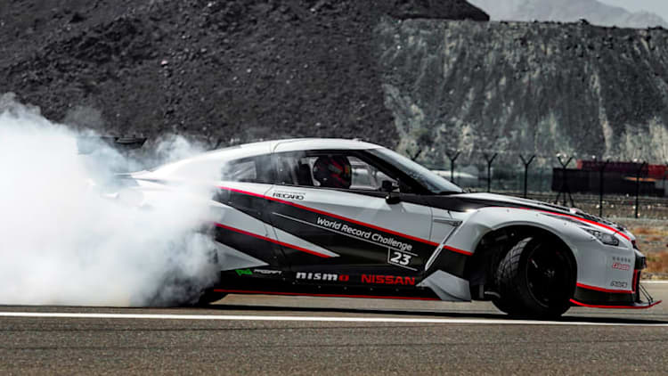 This Nissan GT-R just smashed the record for fastest drift [UPDATE]