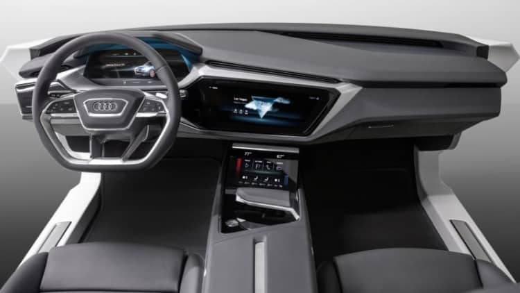 Audi's CES interior concept foretells a screen-filled A8