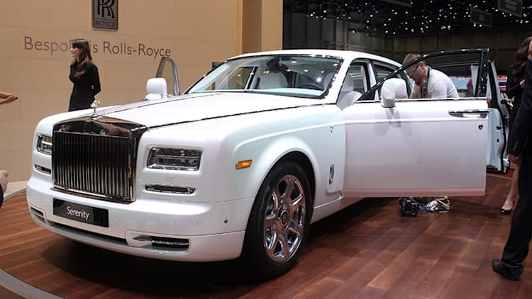 Rolls-Royce Serenity takes luxury to a new level in Geneva [w/video]