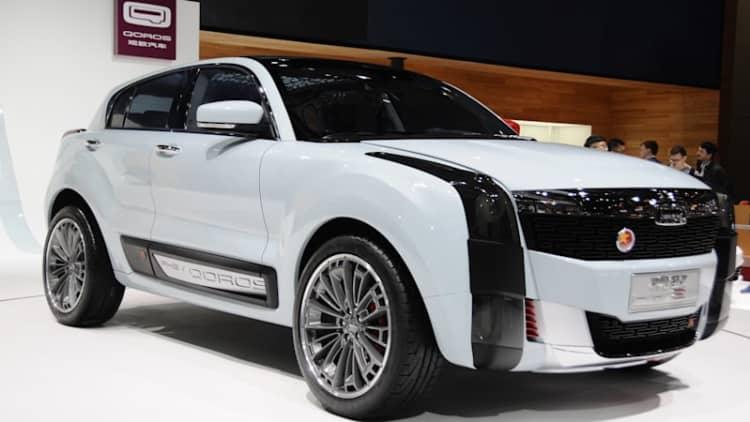 Qoros 2 SUV PHEV concept shows a promising way forward in Shanghai
