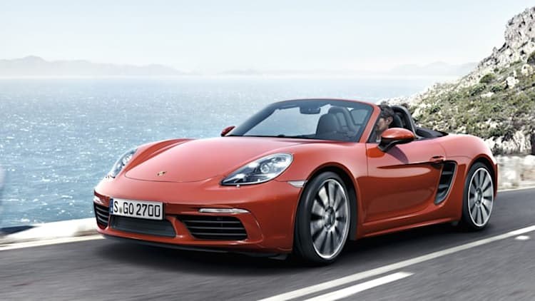 Meet the new Porsche 718 Boxster and Boxster S
