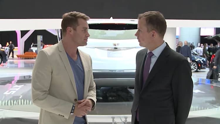 Interview with Cadillac CMO Uwe Ellinghaus | 2016 NAIAS Live