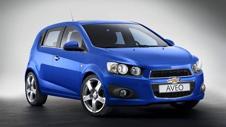 Officially, Official: Chevrolet to unveil 2012 Aveo at Paris Motor Show