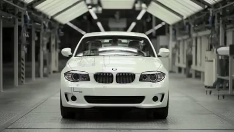 Video: BMW kicks off production of the Active E