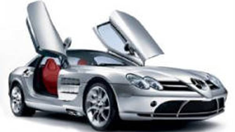 DaimlerChrysler recalls the Mercedes-Benz SLR McLaren