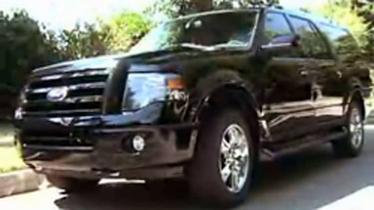 Ford Expedition EL and Lincoln Navigator go on camera at MT