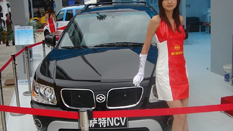 Chinese carmakers now doing mashups! Meet the Lexiac RX Torrent