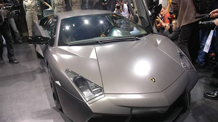 VIDEO: Lamborghini Reventon from behind the wheel