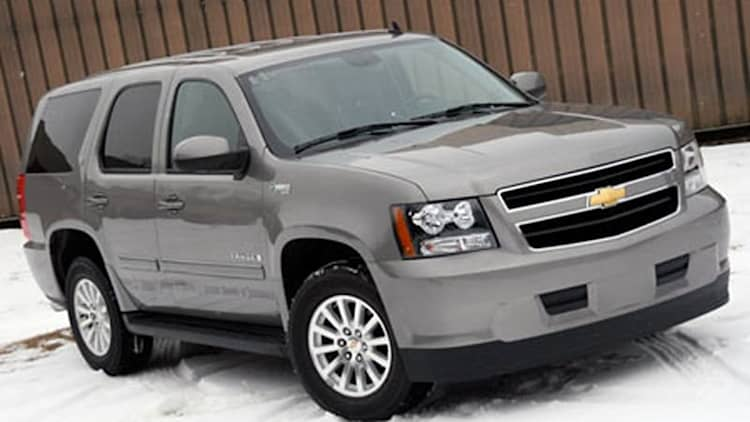 In the ABG Garage: 2008 Chevy Tahoe Two-Mode Hybrid