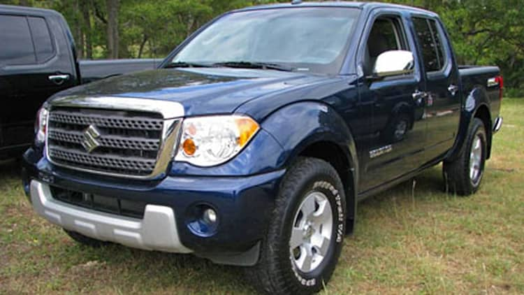 First Drive: 2009 Suzuki Equator