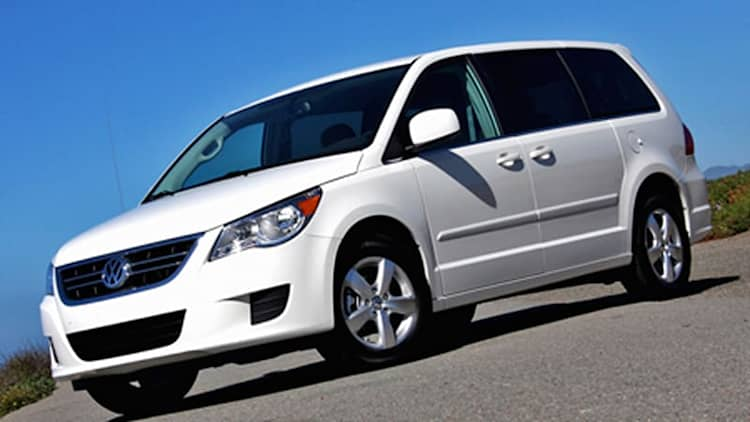First Drive: 2009 Volkswagen Routan