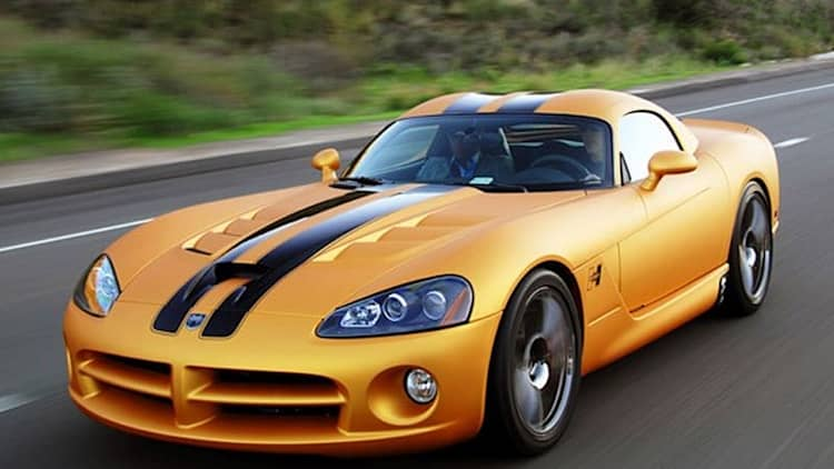 First Drive: Autoblog drives the 50th Anniversary Hurst Viper - first! [w/VIDEO]