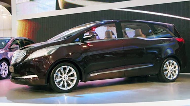 Shanghai 2009: Buick's handsome new MPV concept is all business