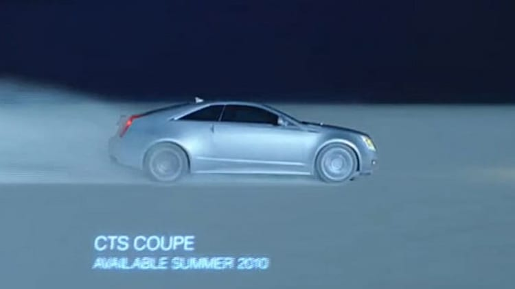 VIDEO: Production Cadillac CTS Coupe breaks through in new 60-second spot