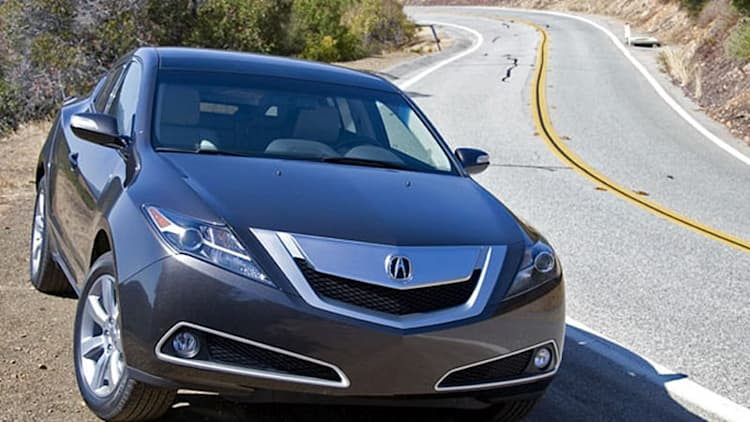 2010 Acura ZDX recalled for airbag issues