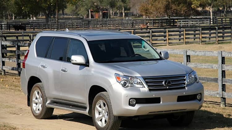Lexus resumes sales of GX 460, software update available to owners