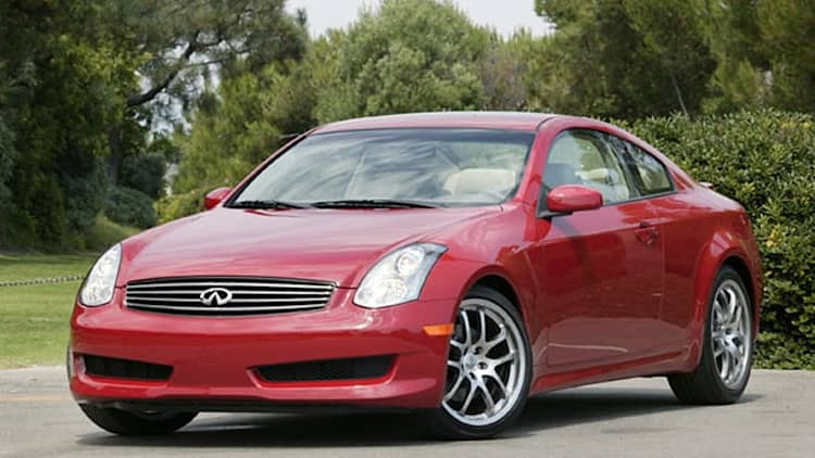 Infiniti recalls 134,000 G35 coupes and sedans due to airbag issue