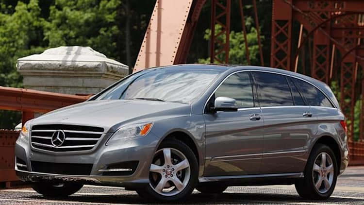 First Drive: 2011 Mercedes-Benz R-Class is better by a nose