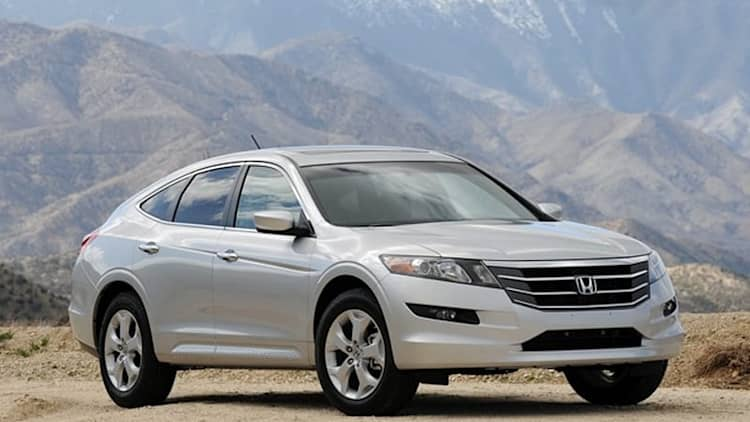 Honda recalling Accord Crosstour over airbag issue