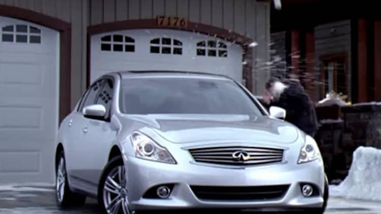 Video: Infiniti gets in the holiday spirit with two snowball-themed ads