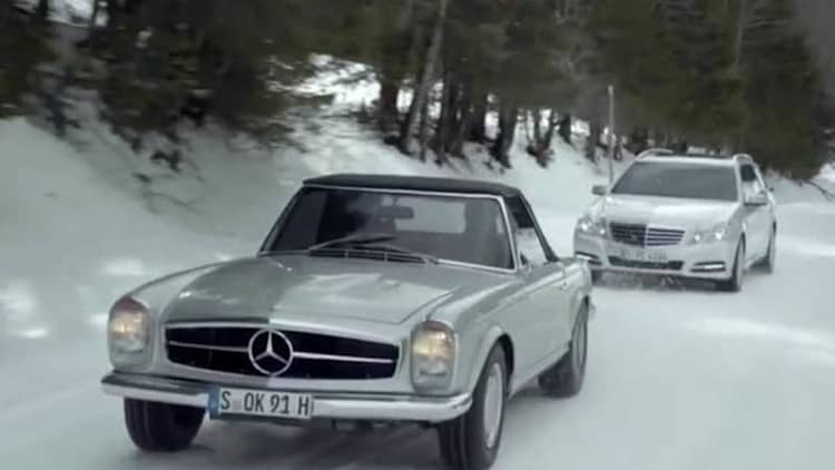 Video: Mercedes-Benz pits old foes against each other for new ad