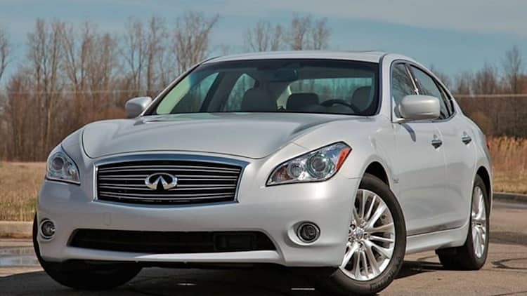Quick Spin: 2012 Infiniti M35h