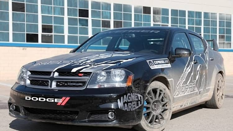 Mopar Avenger Rally Car: More power, less pork... and not for production [w/video]